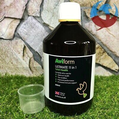 AVIFORM ULTIMATE 11 in 1 500ml TOTAL HEALTH PIGEONS BIRDS RACING SUPPLEMENT YBS