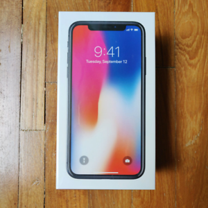 "Apple iPhone X 4G LTE Unlocked 5.8"" Space Grey 256GB 3GB RAM"