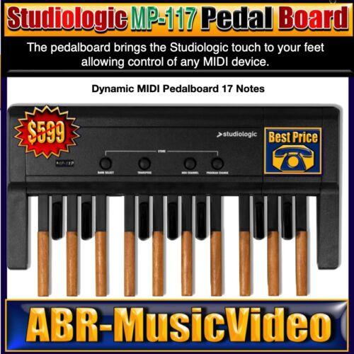 Studiologic MP-117 Dynamic MIDI Pedalboard/ 2 Year Manufacture Warranty