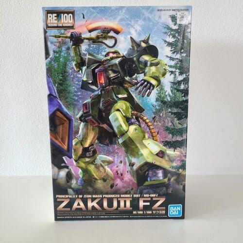 Bandai Hobby Gundam 0080 ZAKU II FZ RE/100 MG 1/100 Model Kit USA Seller NEW