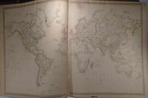 Map of the World on Mercator