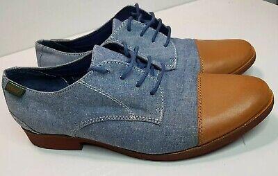 G H BASS Women's Summer Shoes Leather Textile Fashion Shoes Size UK 5  EU 38