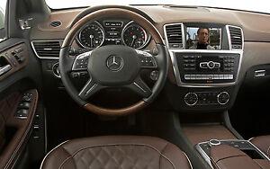 Mercedes-Benz GL-Class X166 2012 - 2015 Video In Motion TV FREE DVD Lockpick