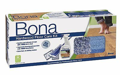 Bona Hardwood Floor Care System, 4-Piece Set