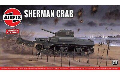 AIRFIX® 1:76 SCALE SHERMAN CRAB TANK WW2 U.S TANK MODEL KIT A02320V