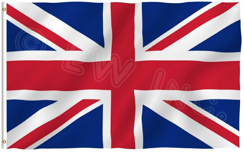 3x5 British Union Jack United Kingdom UK Great Britain Flag