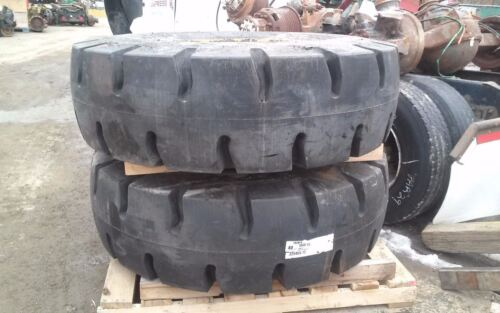 Primex Tires 18.00 X 25 18.00 - 25 Foam Filled Mounted On Old Rims