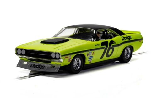 Scalextric C4164 Dodge Challenger - Sam Posey, #76 1:32 Slot Car *DPR*