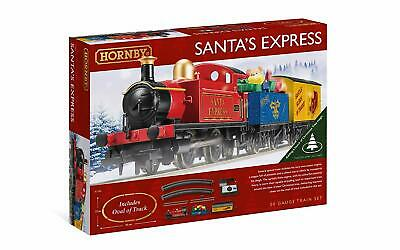 NEW Hornby R1248 Santa's Express Train Set OO Scale FREE US SHIP