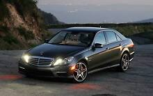 """LIKE NEW GENUINE MERCEDES E63 19"""" ALLOYS & DECENT Tyres suit ALL Carlton Melbourne City Preview"""