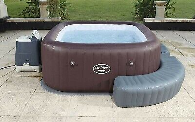 IN HAND *UK* Lazy-Z Spa Hot Tub Jacuzzi Maldives HydroJet LED LIGHTS