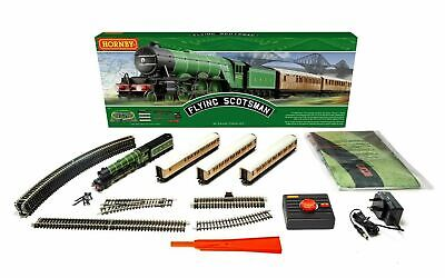 Hornby R1255M Flying Scotsman Train Set OO Scale (HO Track Compatible)