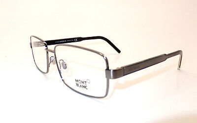 MontBlanc MB 622 014 Men Eyewear Optical Frame DEMO Lenses Ruthenium Italy Z7