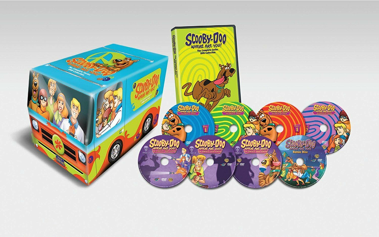 Купить Brand New Scooby-Doo, Where Are You!: The Complete Series (DVD 2012, 8-Disc Set)