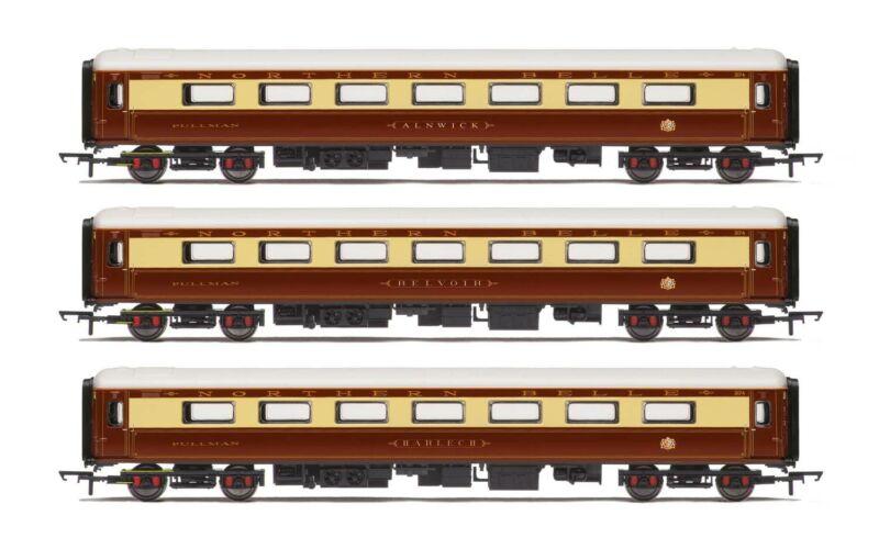 Hornby R4898 OO Northern Belle Mk.2D Coach Car (Pack of 3)