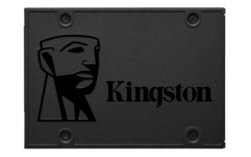 Kingston SSDNow 480GB Internal SATA Solid State Drive for Laptops Black SA400S37/480G