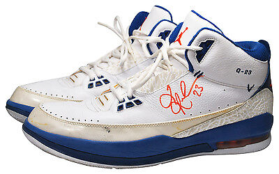 2008 Quentin Richardson New York Knicks Game-Used & Dual Autographed Jordan  PE's