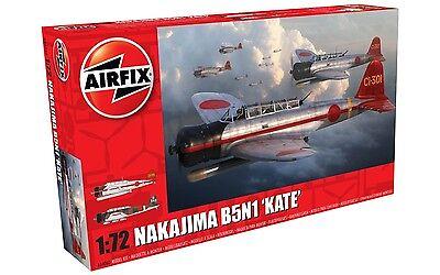 Airfix 1504058 Nakajima B5N1 Kate 1:72 Modellbau Modell Flugzeug Bausatz