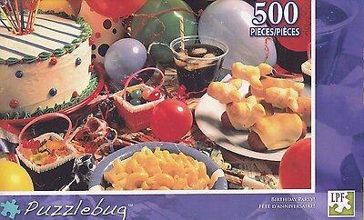 NEW Puzzlebug 500 Piece Jigsaw Puzzle ~ Birthday Party!