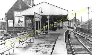 Barnstaple Town Railway Station Photo.Wrafton & Ilfracombe Line. L&SWR. (18)