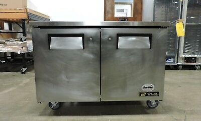 True Tuc-48-lp Commercial Undercounter Solid Door Refrigerator