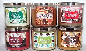 Bath-Body-Works-Slatkin-Co-3-Wick-14-5-oz-Scented-Candles-U-Choose