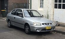 2002 Hyundai Accent Hatchback - perfect first car Double Bay Eastern Suburbs Preview
