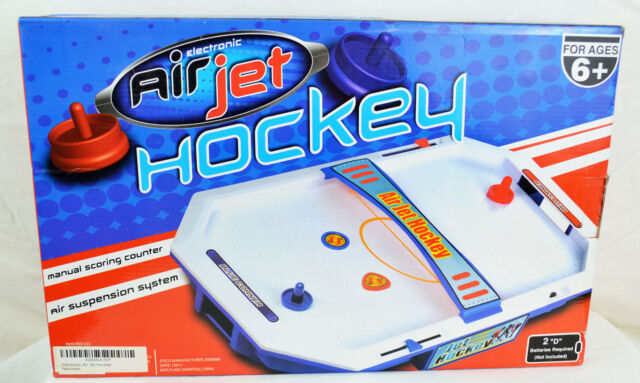 NEW Mini Table Top Air Hockey With Accessories Pucks Indoor Toy Game Kids  Gift