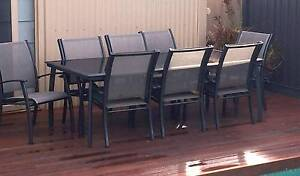 Quality 9 Piece Outdoor Setting Magill Campbelltown Area Preview