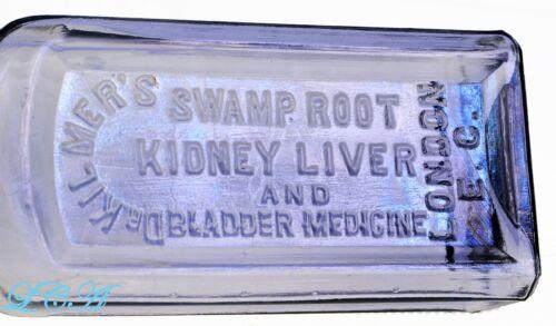 Light amethyst OLD quack Dr Kilmer