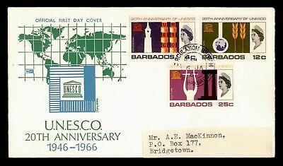 1967 BARBADOS UNESCO FDC