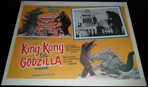 1962-King-Kong-vs-Godzilla-ORIGINAL-LOBBY-CARD-Ishiro-Honda-JAPANESE-SCI-FI-C