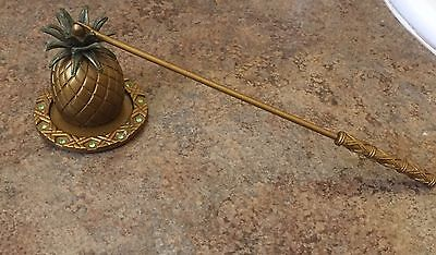 Vintage Retired Pineapple Partylite Candle Snuffer