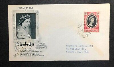 Falkland Islands 1953 Coronation FDC First Day cover