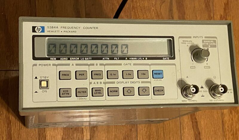HP 5384A Frequency Counter - UNTESTED