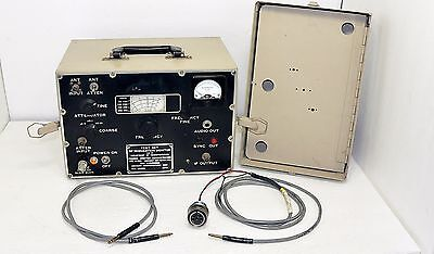 Crescent Communications Fa8901 Rf Modulation Monitor Test Set Fa-8901 8525
