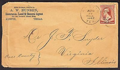 General Insurance  Land   Grant Agent Advertising Cover   678