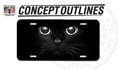 Cat Eye License Plate Frame - Cat Eye Aluminium Metal License Plate Tag Auto Car Truck T-Cats#1