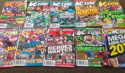 Massive Lot  of K-Zone's, Krash's, Mania's & Comics