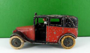 PRE WAR DINKY TOYS TAXI WITH DRIVER No 36G
