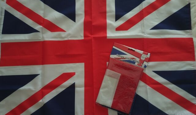 Union Jack 3ft x 2ft Flag  England Great Britain Queens Street Party Decoration
