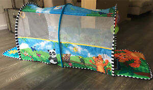 "TUNNEL 2-en-1 ""SAFARI"" Baby Einstein"