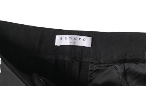 Pantalon fluide noir sandro -taille 40
