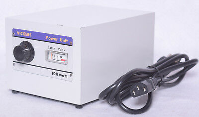 Vickers Instruments M41 Microscope Adjustable Power Supply Unit 100w