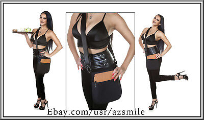 Quality Black Single Pocket Tablet Holster Pouch With Sling Made In Usa