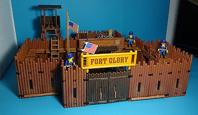 Playmobil Western ~ Fort Glory (3806) & Anleitung