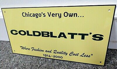Goldblatts Goldblatts Chicago Retail Department Store Sign