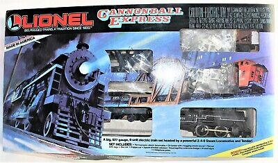 Lionel #70-1615-202 Cannonball Express 027 Train Set in Original Box Complete