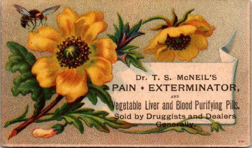 "Vintage QUACK Medicine Trade Card ""McNeil"