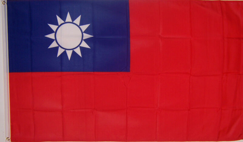 NEW BIG 2x3 ft TAIWAN TAIWANESE  BANNER FLAG better quality usa seller